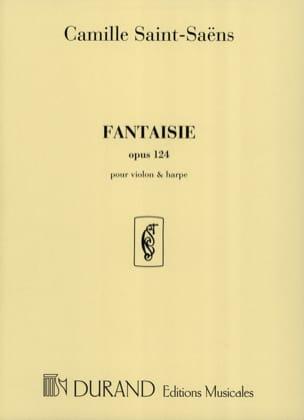 Fantaisie op. 124 - Violon harpe SAINT-SAËNS Partition laflutedepan