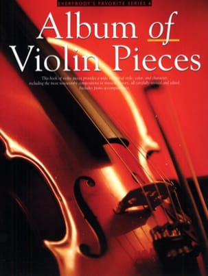 Album of Violon Pieces Partition Violon - laflutedepan