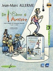 De l'Elève à l'Artiste - Volume 3 Jean-Marc Allerme laflutedepan