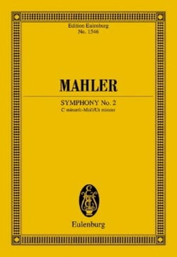 Symphonie n° 2 - Conducteur MAHLER Partition laflutedepan