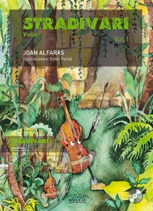 Stradivari Vol. 1 Joan Alfaras Partition Violon - laflutedepan