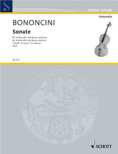 Sonate A-Moll - Violoncello - laflutedepan.com