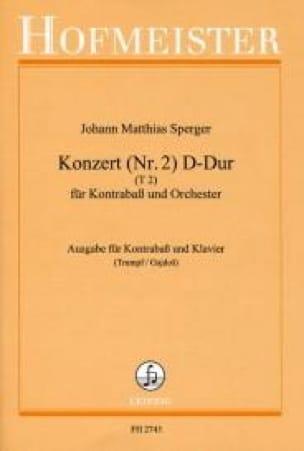 Konzert n°2 D-Dur, T 2 - Kontrabass - laflutedepan.com
