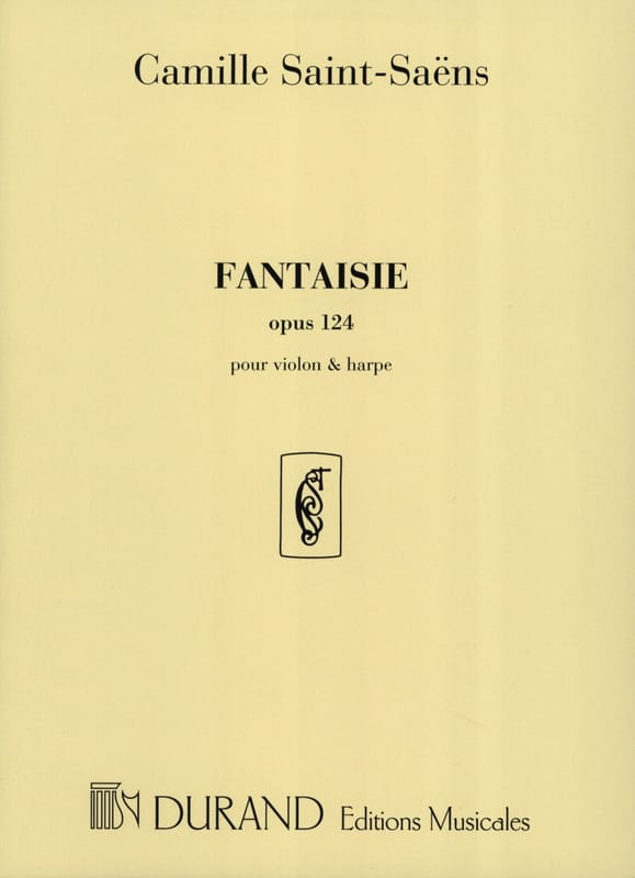 Fantaisie op. 124 - Violon harpe - SAINT-SAËNS - laflutedepan.com