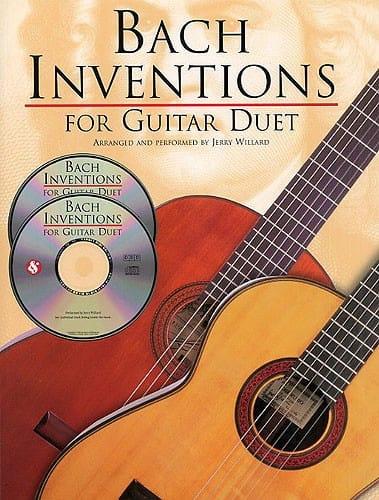 Inventions For Guitar Duet + 2 CDs - BACH - laflutedepan.com