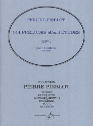 144 Préludes et Etudes Cahier 1 laflutedepan
