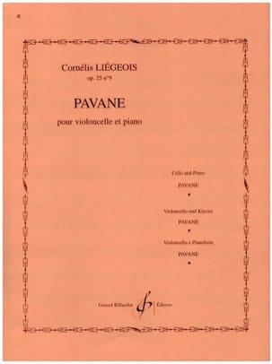 Pavane op. 25 n° 9 Cornélis Liegeois Partition laflutedepan