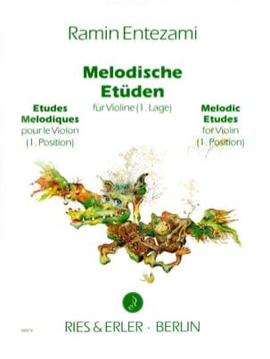 Melodische Etüden Volume 1 Ramin Entezami Partition laflutedepan