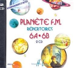 CD - Planète FM Volume 6 - Accompagnements/Dictées laflutedepan