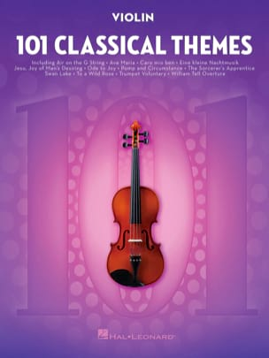 101 Classical Themes for Violin Partition Violon - laflutedepan