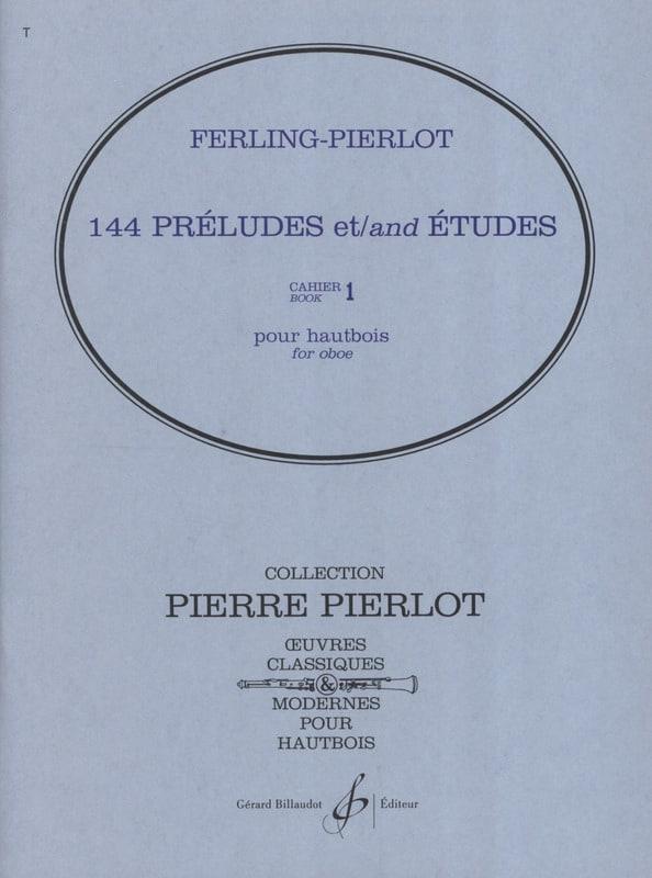 144 Préludes et Etudes Cahier 1 - laflutedepan.com