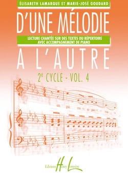 D'une mélodie à l'autre - Volume 4 - 2ème Cycle laflutedepan