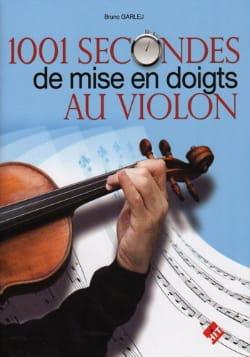1001 Secondes de Mise en Doigts au Violon Bruno Garlej laflutedepan