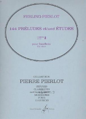 144 Préludes et études - cahier 2 - laflutedepan.com