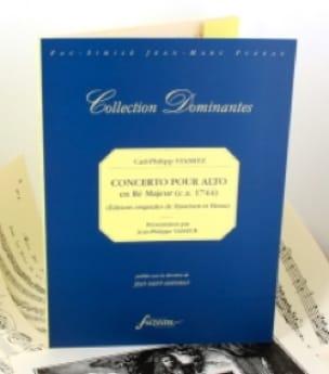 Concerto pour Alto en ré majeur - Fac-Similé - laflutedepan.com