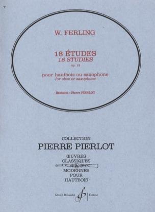 18 Etudes op. 12 W. Ferling Partition Hautbois - laflutedepan