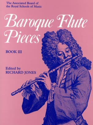 Baroque Flute Pieces - Volume 3 Partition laflutedepan