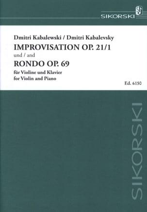 Improvisation op. 21 n° 1 / Rondo op. 69 laflutedepan