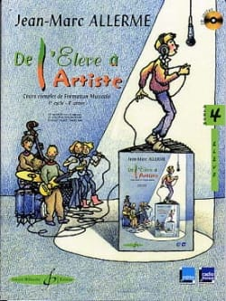 De l'Elève à l'Artiste - Volume 4 Jean-Marc Allerme laflutedepan