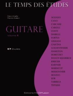 Le Temps des Etudes Volume 1 - Guitare Partition laflutedepan