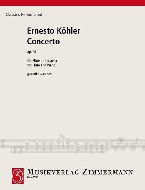 Concerto en sol mineur, op. 97 - Flûte et piano - laflutedepan.com