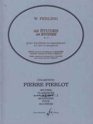 48 Etudes, Opus 31 Franz W. Ferling Partition Hautbois - laflutedepan