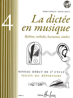 Pierre CHEPELOV et Benoit MENUT - The Dictation in Music Volume 4 - Partition - di-arezzo.com