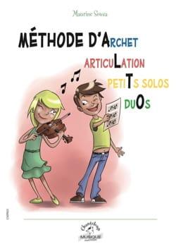 Méthode d'Archet, Articulation, Petits solos, Duos pour Alto laflutedepan