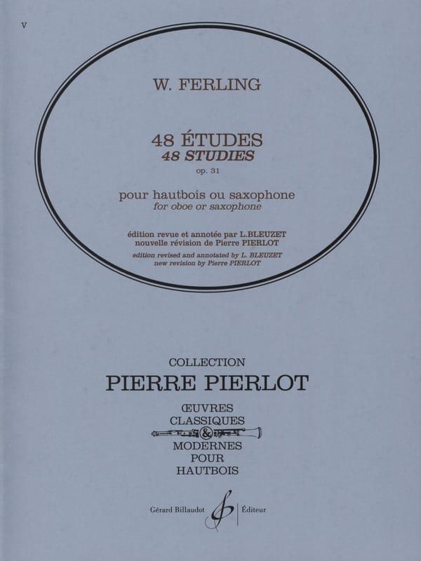 48 Etudes, Opus 31 - Franz W. Ferling - Partition - laflutedepan.com