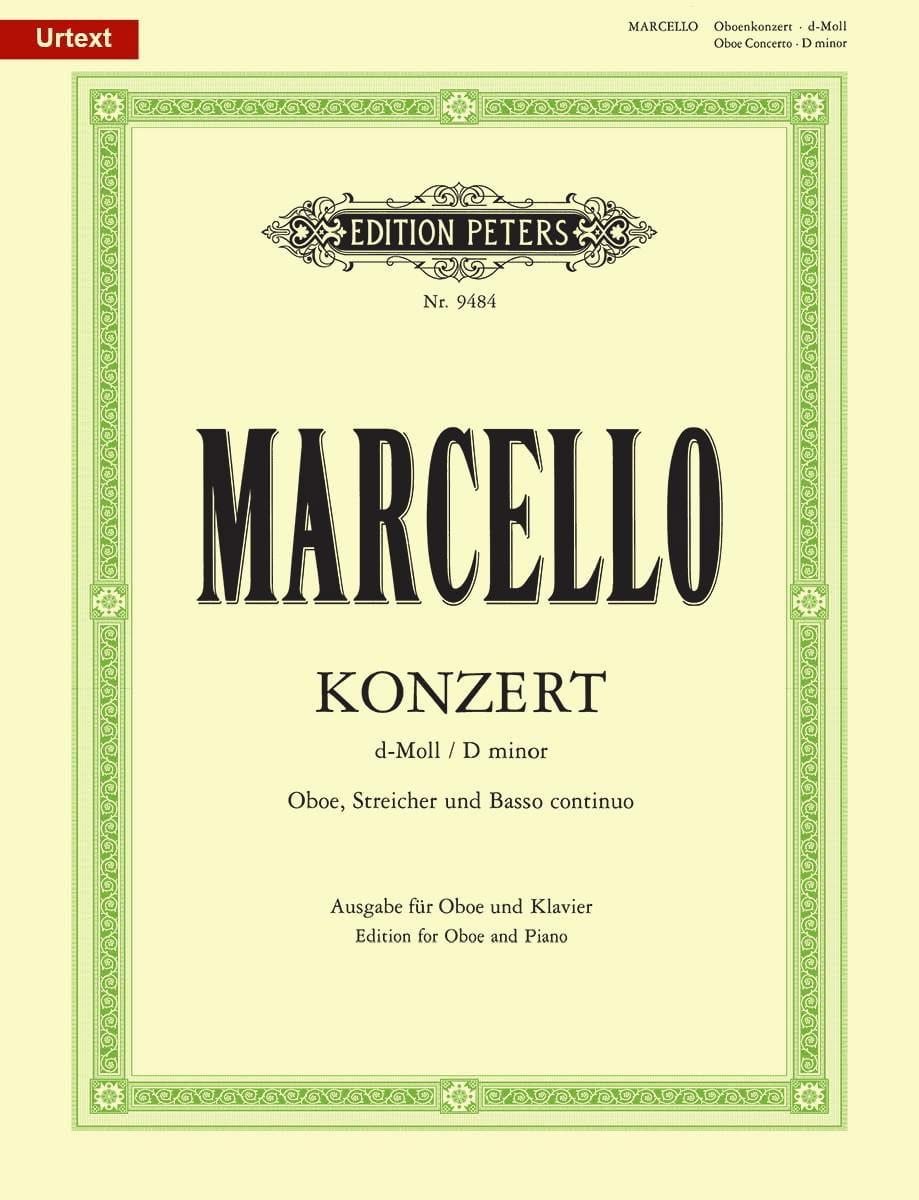 Concerto pour Hautbois en ré mineur - hautbois et piano - laflutedepan.com