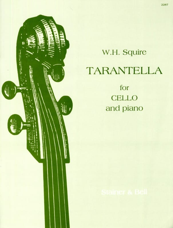 Tarantella opus 23 - Squire W. H. - Partition - laflutedepan.com