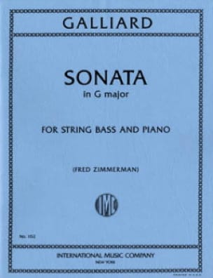 Sonata in F major - Johann Ernst Galliard - laflutedepan.com