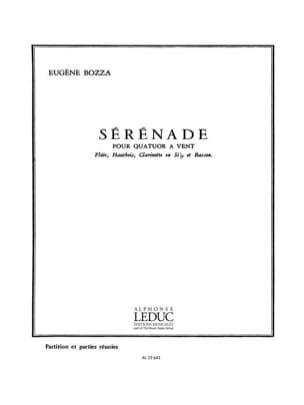 Sérénade -Quatuor à vent - Partition + parties laflutedepan