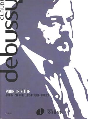Pour la flûte - DEBUSSY - Partition - laflutedepan.com