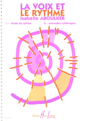 Isabelle Aboulker - Voice and Rhythm - Partition - di-arezzo.com