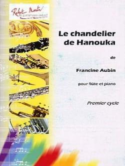 Le chandelier de Hanouka Francine Aubin Partition laflutedepan
