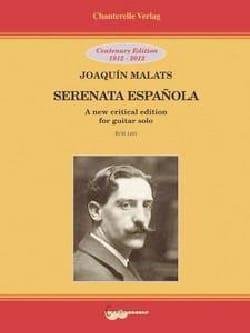 Serenata Espanola - Guitare Joaquin Malats Partition laflutedepan