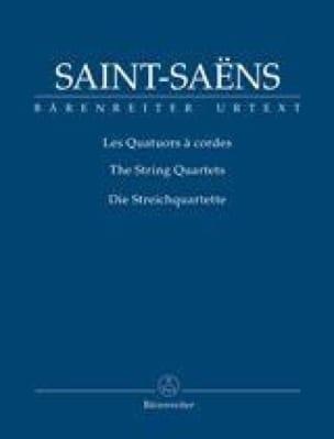 Quatuors à Cordes - SAINT-SAËNS - Partition - laflutedepan.com