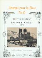 Rêverie et Caprice op. 8 - Flûte piano BERLIOZ Partition laflutedepan