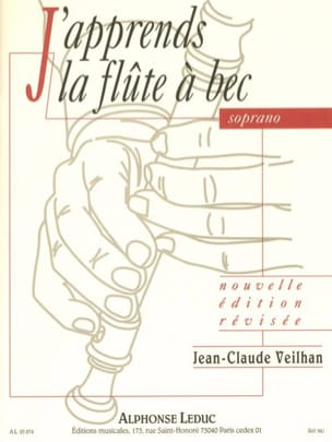 J'apprends la Flûte à Bec Soprano Jean-Claude Veilhan laflutedepan