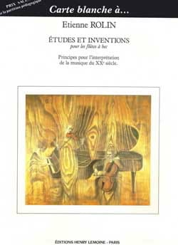 Etudes et Inventions - Etienne Rolin - Partition - laflutedepan.com