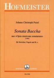 Sonata Baccha aus Opus musicum sonatarum 1686 laflutedepan