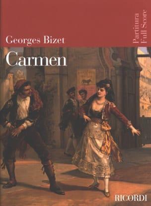 Carmen BIZET Partition Grand format - laflutedepan