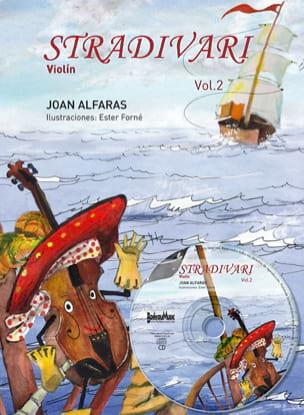 Stradivari Vol. 2 Joan Alfaras Partition Violon - laflutedepan