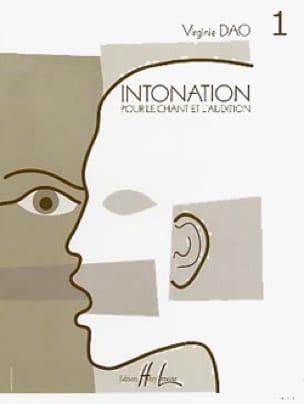Intonation - Volume 1 - Virginie Dao - Partition - laflutedepan.be