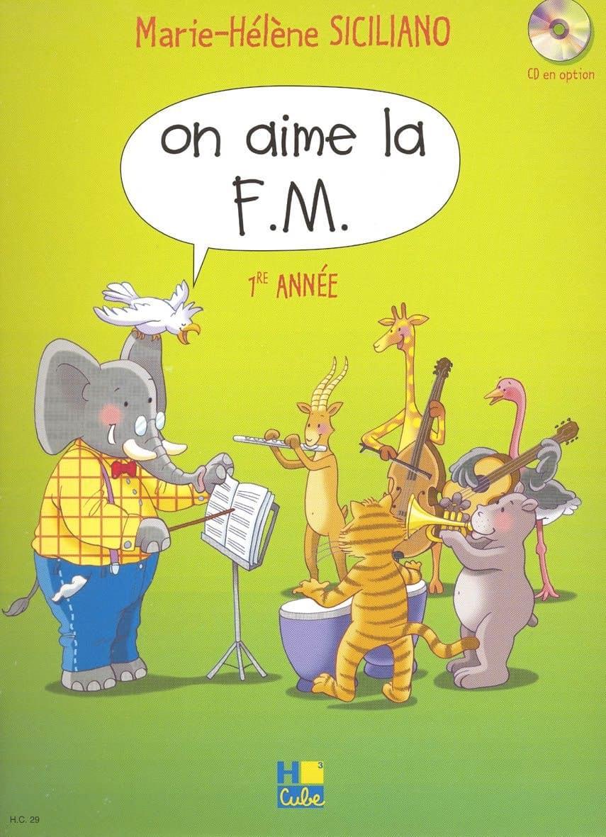 On Aime la FM - Volume 1 - SICILIANO - Partition - laflutedepan.com