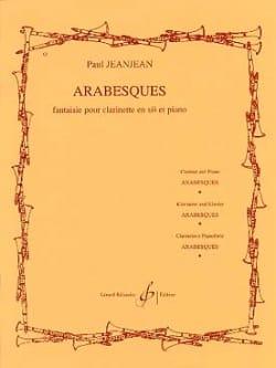 Paul Jeanjean - arabesques - Partition - di-arezzo.co.uk