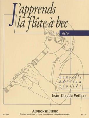 J'apprends la Flûte à Bec alto Jean-Claude Veilhan laflutedepan