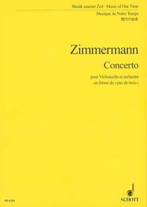 Concerto pour violoncelle - Partitur laflutedepan