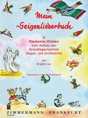 Mein Geigenliederbuch, Band 2 Brigitte Lee Partition laflutedepan